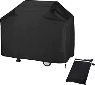 Mayhour 66 inch Indoor Outdoor BBQ Cover Adjustable Grill Dedicated,Waterproof Gas Grill Cover for Weber, Char-Broil, Brin...