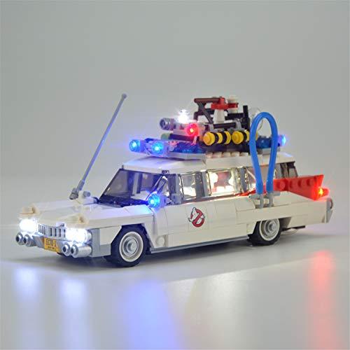 Kit De Luces Led Para Ghostbusters Ecto-1, Compatible Con El Modelo De Bloques De ConstruccióN De Juguetes Lego 21108 (No Incluido El Modelo)
