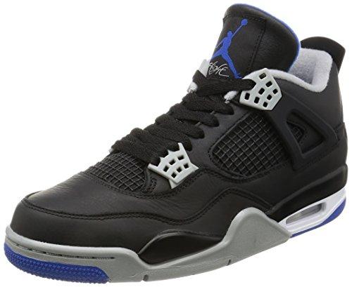 Nike - Jordan IV Retro - 308497006 - Farbe: Grau-Schwarz-Violett - Größe: 42.0