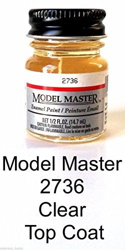 Testors Model Master Automotive Enamel Gloss Clear Top Coat
