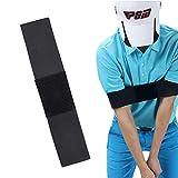 YUIP 2 Pezzi Fascia per Braccio oscillante da Golf, Cintura per la Correzione della Postura Dell'ausilio per L'allenamento del Golf, Allineamento Pratico Professionale per Uomini Donne Bambini