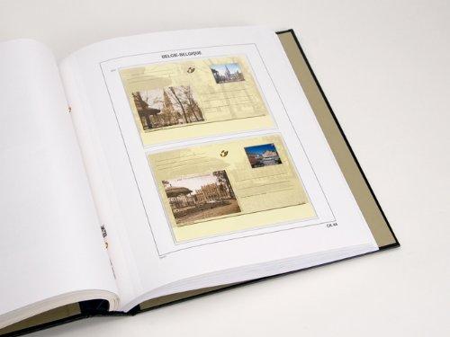DAVO 21951 Luxus Vordrucke Belgien Postkarten 2011