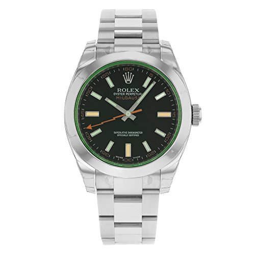 Rolex New Milgauss 116400 Blue Green Steel 40mm 2019 Box/Paper/5YrWarranty #RL67