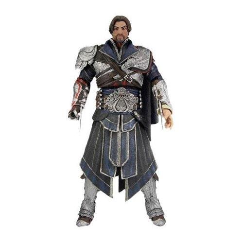 Neca 60821 Assassin's Creed Figura de  Acción con Traje Onyx Unhooded