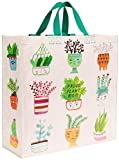 Blue Q Shopper ~ Proud Plant Mom. Reusable grocery bag, sturdy, easy-to-clean, perfect for houseplant lovers. 15
