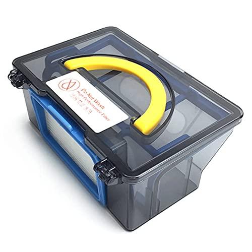 De Galen Piezas de repuesto limpiador ajuste caja de polvo para iLife V5 V5Pro Medion MD 16192 MD 18500 limpiador apropiado cajas de polvo robot barredora limpieza reemplazo accesorios de vacío