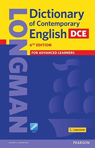 Longman Dictionary of Contemporary English (DCE) - 6th Edition: Englisch-Englisch (Einsprachige Wörterbücher)