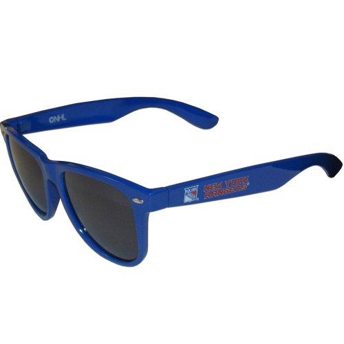 NHL Siskiyou Sports Fan Shop New York Rangers Beachfarer Sunglasses One Size Team Color