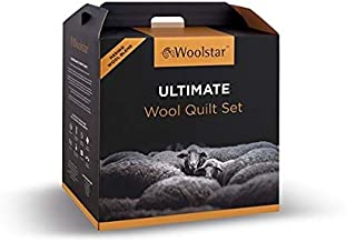 Woolstar King Ultimate Wool Quilt Set - 3 in 4, Bed 240x210cm