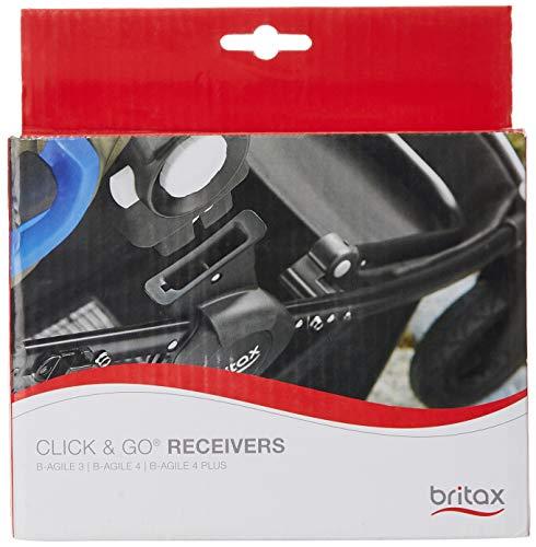 Britax-Romer 2000012050 Set Adattatori, Nero