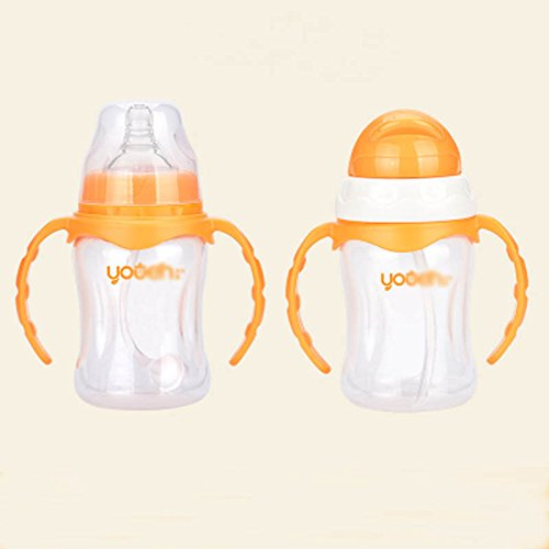 New 210ml Milk Bottle Feeding Bottle Newborn Baby 1 PCS Infant Bottle With Soft Silicone Nipple,And ...