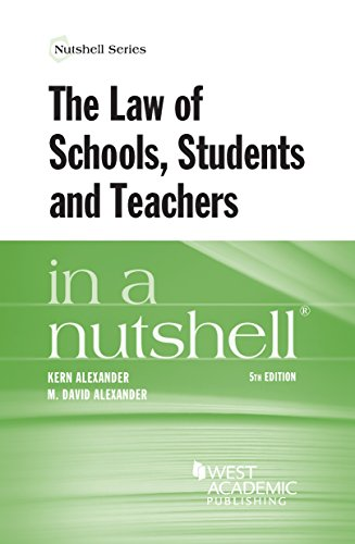 The Law of Schools, Students and Teachers in a Nutshell (Nutshells)