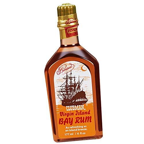 Pinaud Virgin Island Bay Rum Shave Cologne, After Shave Fragrance, 6 fl oz