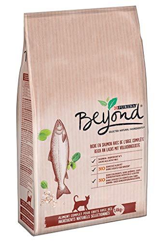 PURINA Beyond Bei Lachs-Kroketten Katzen und Gerste complate 1,4kg (Lot von 2) 1