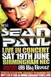 Sean Paul Birmingham Nec 19Th June 2004 (K), 100 x 150 Cm,
