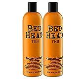 TIGI Bed Head Color Goddess Shampoo e balsamo con infuso di olio, Per capelli colorati, 750 ml x 2