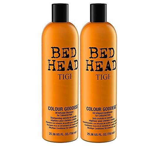 TIGI Bed Head Color Goddess Shampoo e balsamo per capelli colorati - 1500 g