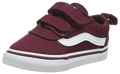 Vans Ward V-Velcro, Sneaker, Canvas Port/White, 26 EU
