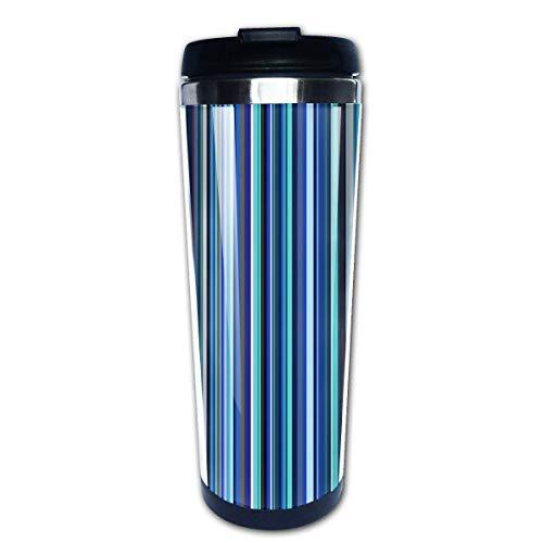 Old Skool Blues Coffee Travel Mug Tazas de café con tapas Taza de acero inoxidable para hombres y mujeres