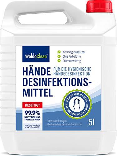 Desinfektionsmittel für Haut und Hände 5 Liter - begrenzt viruzid
