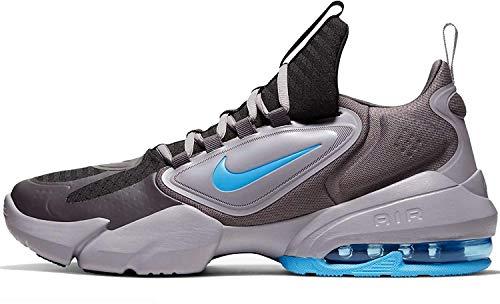 Nike Air Max Alpha Savage, Scarpe da Ginnastica Uomo, Multicolore (Black/LT Current Blue-Thunder Grey 040), 41 EU