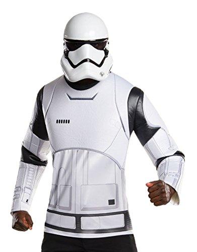 Rubie's mannen Star Wars Force wekt Stormtrooper Top en masker Kostuum Kit, Standaard, CHEST 44