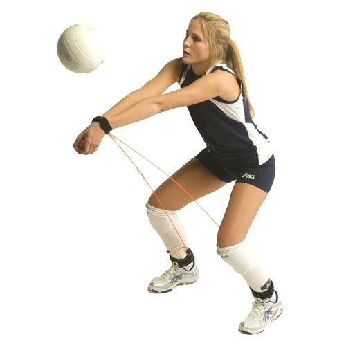 Tandem Sport Pass Rite, Volleyball Training Aid Resistance Band, Prevents Excessive Upward Arm Movement.