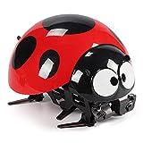 ELKeyko Robot al Aire Libre Divertido niños plástico niños Regalo Insecto Control Remoto Juguete RC Ladybug Robot Simuló el hogar Inteligente