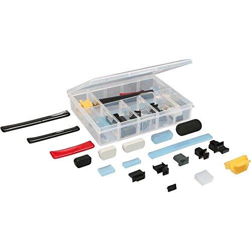 InLine 59941C Staubschutz-Set, für Computer-Schnittstellen, 44-teilig