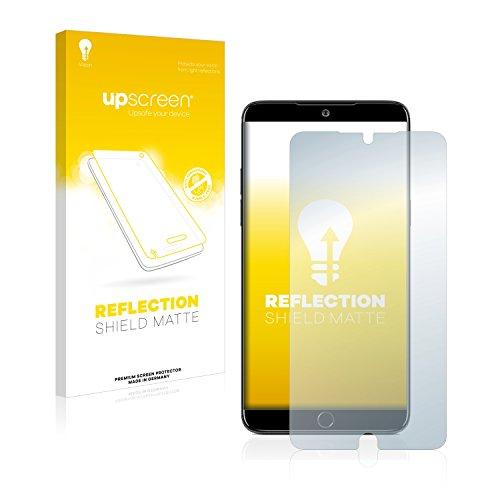 upscreen Entspiegelungs-Schutzfolie kompatibel mit Meizu 15 Plus – Anti-Reflex Bildschirmschutz-Folie Matt