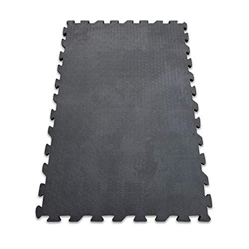 Stallmatte aus Gummi | Stallboden | Puzzlesystem | Rutschfest & gelenkschonend | 2 Größen – 20 mm Stärke (120 x 80 cm)
