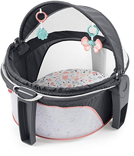 Fisher-Price On-The-Go Baby Dome - Pink Pacific Pebble, Portable Infant Play...