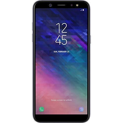 Samsung Galaxy A6 (2018) A600 Single-SIM Smartphone (5,6 Zoll) 32GB Lavender Grau