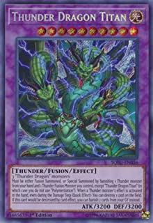 Thunder Dragon Titan - SOFU-EN036-1st Edition - Secret Rare