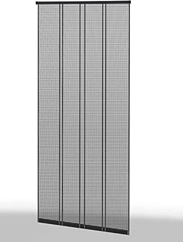 empasa Klemm-Lamellenvorhang \'COMFORT\' Fliegengitter Insektenschutzvorhang verschiedene Größen als Selbstbausatz