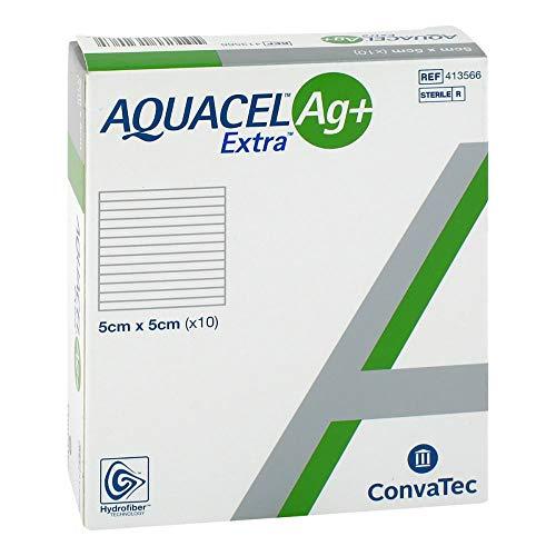 AQUACEL Ag+ Extra Dressings 5 x 5 cm by Aquacel