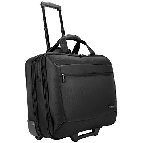 Targus TCG717 CityGear – Laptop-Rollkoffer/-Koffer/-Trolley für Geschäftsreisende und Laptops mit Bildschirmdiagonalen von bis zu 17,3Zoll – schwarz/grau