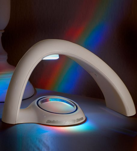 Rainbow In My Room Tabletop Décor Night Light Projector - Uncle Milton
