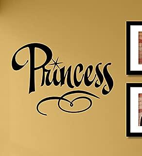 Princess Vinyl Wall Decals Quotes Sayings Words Art Decor Lettering Vinyl Wall Art Inspirational Uplifting