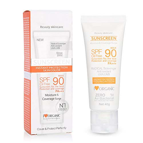 Crema de protección solar fresca, crema de protección contra la radiación ultravioleta, protege la piel de los daños del sol, blanqueamiento de la piel con radiación ultravioleta