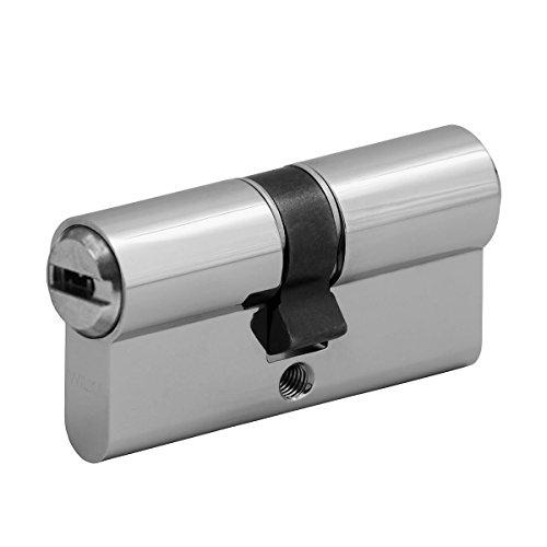 Schließzylinder Wilka-Wendeschlüssel Länge A/B: 26/35 mit 8 Schlüssel