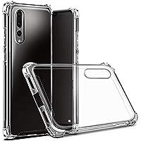 Hually Funda para Huawei P20 Pro, Ultra-Delgado Anti-Arañazos P20 Pro Carcasa Protectora Transparente Delgada de Silicona para la Carcasa del Huawei P20 Pro (Claro)
