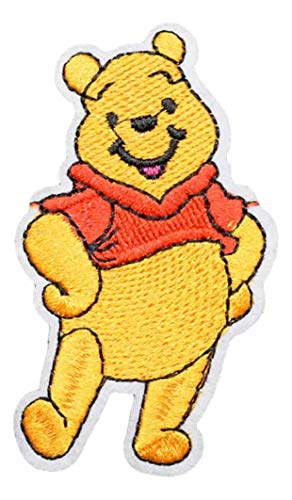 Winnie The Pooh Character 3 Inches Tall Embroidered Patch