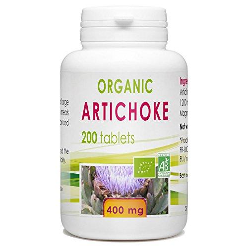 Artichaut bio - 200 comprimés à 400 mg