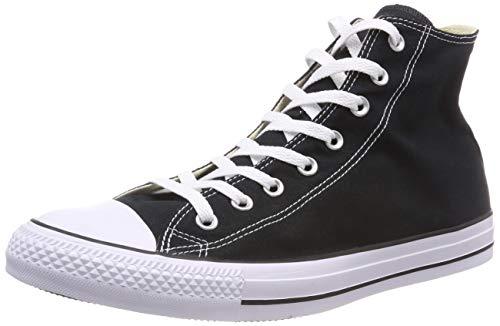 Converse Chuck Taylor All Star-Schuhe, schwarz, Herrengröße 3 / Damengröße 5, Schwarz , 3 Mens/ 5 Womens