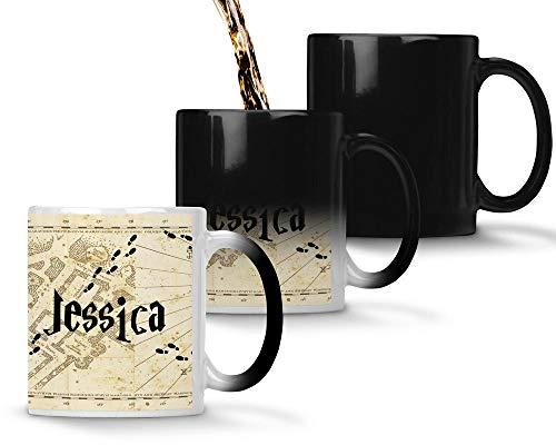Idcase MUG Magique Tasse en céramique café - Made in France -Personnalisable avec PRENOM - Livraison Express