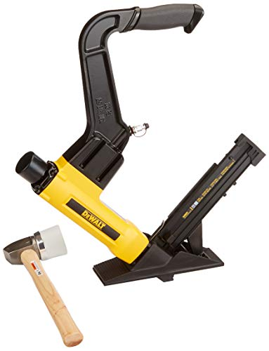 DEWALT Flooring Stapler, 2-in-1 Tool...