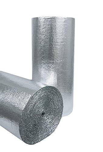 3//16 Insulated Metalized Mylar Double Foil Bubble 16 X 125 Per Roll