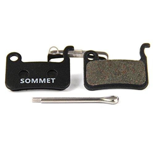 SOMMET Pastillas Freno Disco Semi-metálico para Shimano XTR M975 M966 M965/XT M775...