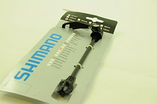 SHIMANO DEORE 168mm REAR QUICK RELEASE SKEWER NEW ON SHIMANO RETAIL CARD CRAZY LOW PRICE